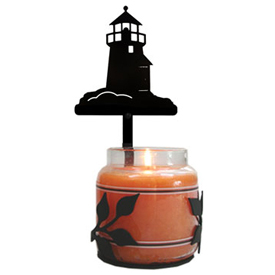 Wrought Iron Lighthouse Large Jar Sconce
