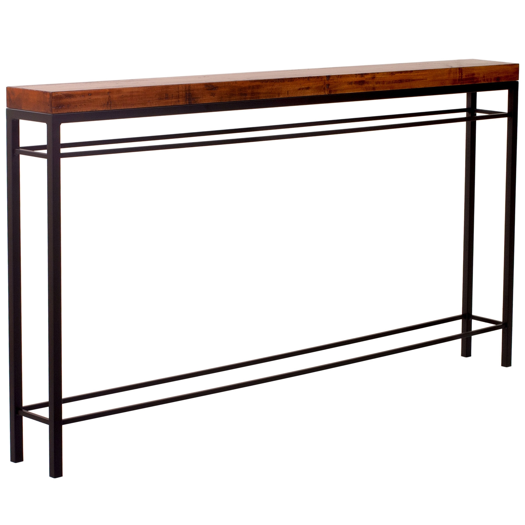 Newhart 70 Wrought Iron Console Table