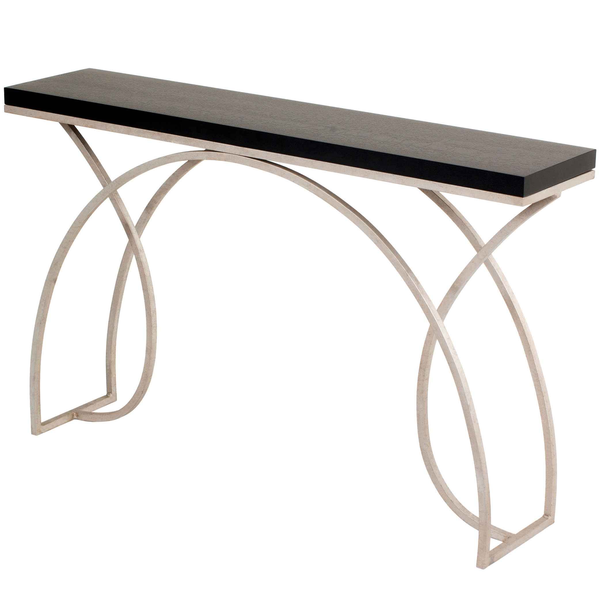 Monarch 60 in Iron Console Table 10 Finish and Top Options