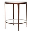 Pictured here is the forged iron Roundabout End Table available in numerous fine iron finishes and table tops to choose from.