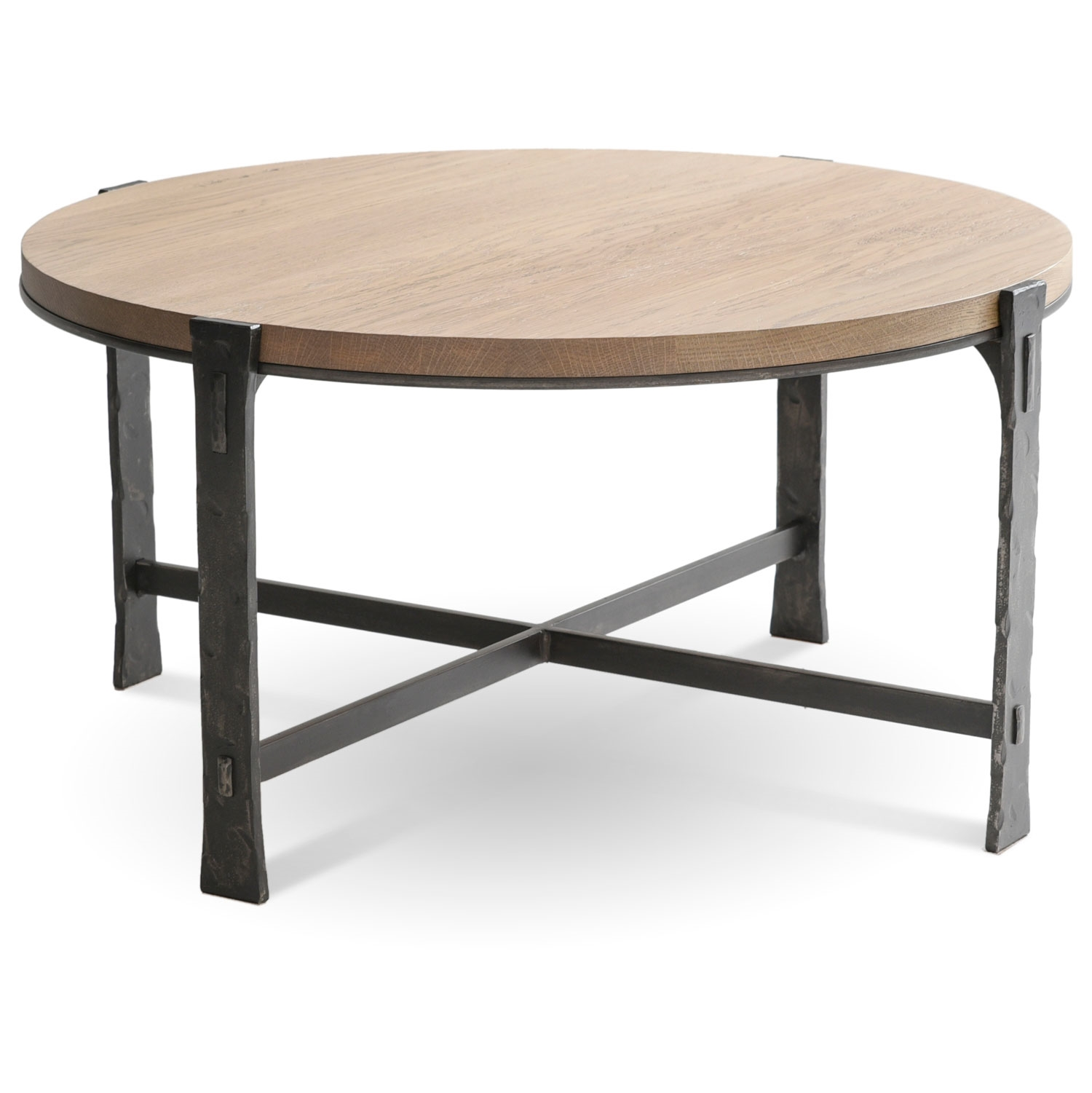 Woodland 36quot Round Cocktail Table Hand forged Iron Table  : TWI CF 6272 2 from www.timelesswroughtiron.com size 1500 x 1501 jpeg 338kB