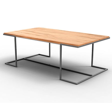 Pictured here is the Taylor Rectangular Cocktail Table manufactured by Charleston Forge.