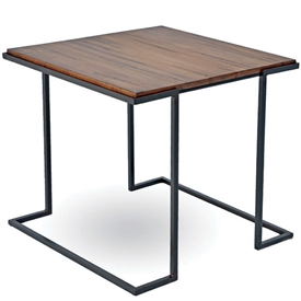 Pictured here is the Taylor Square End Table manufactured by Charleston Forge.