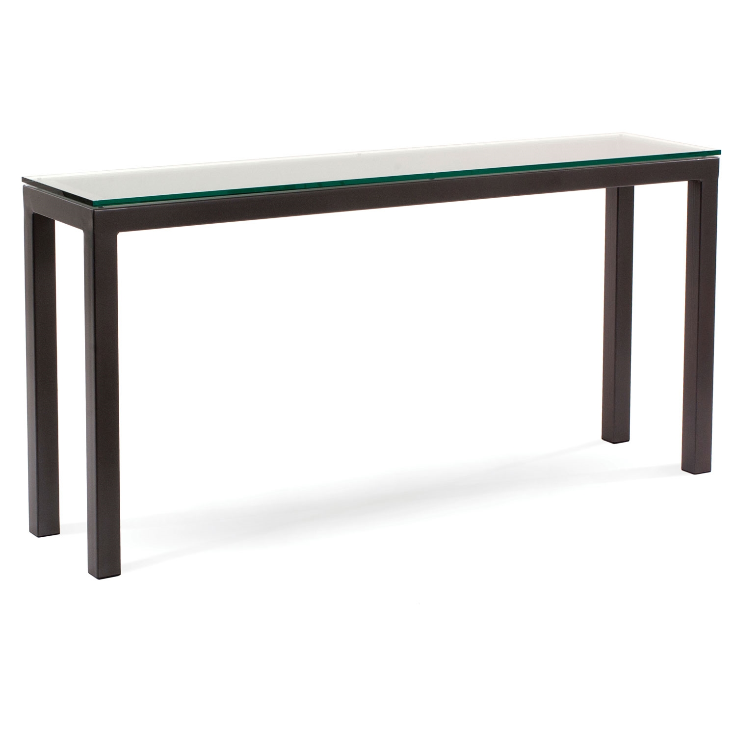 60-in Contemporary Parsons Console Table | W 60-in x D 14-in x H 29.5-in
