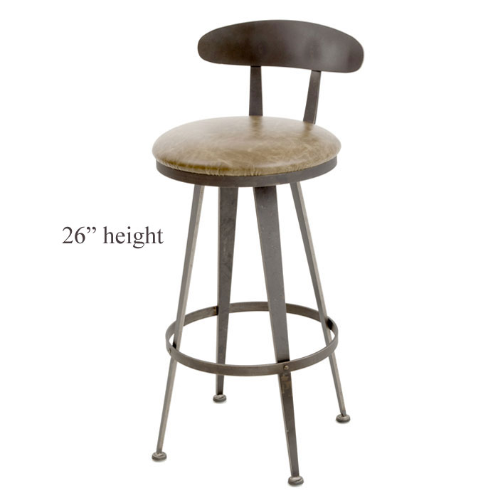 Aries Swivel Counter Stool 30 In Seat Height