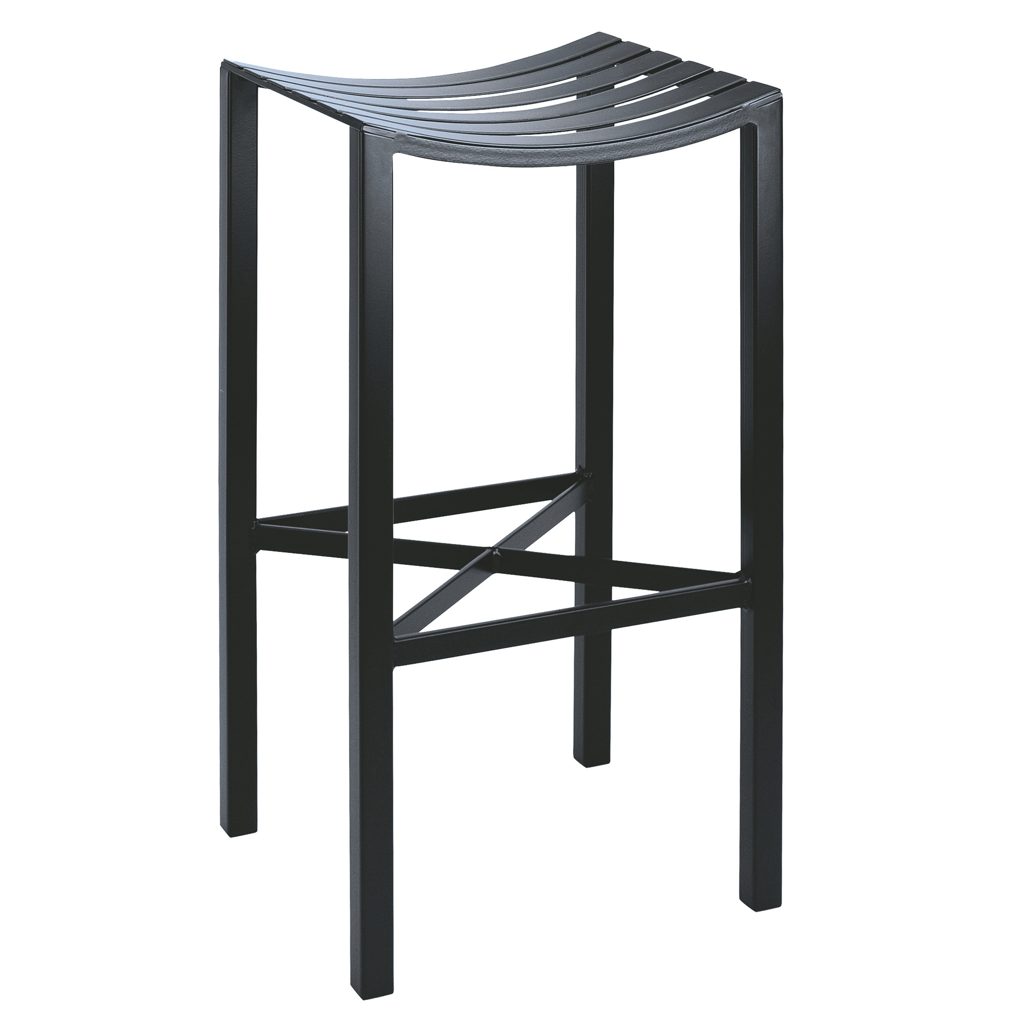 Parsons Backless Bar Stool Metal Seat 30 In Seat Height