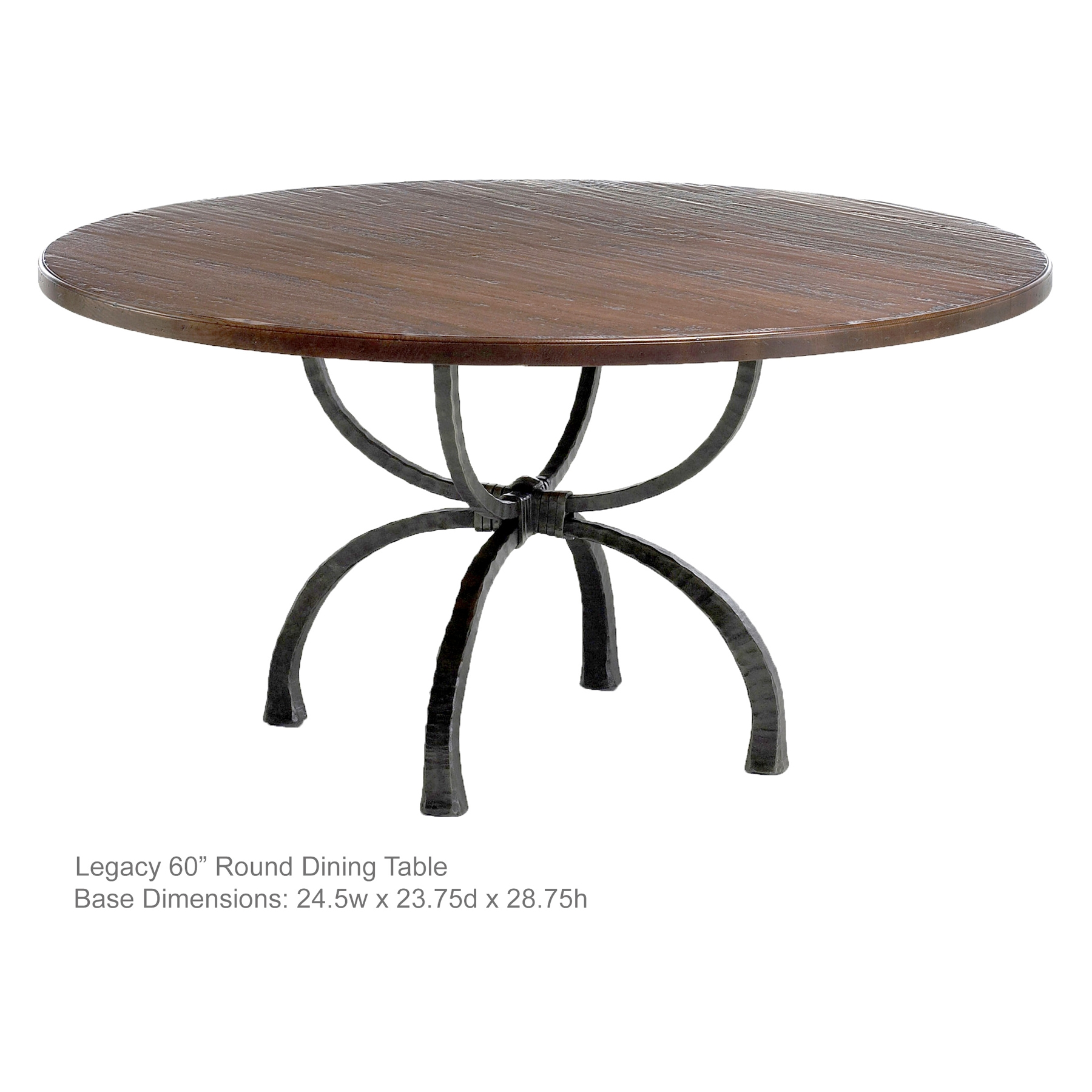 Legacy Handcrafted 60 In Dining Table
