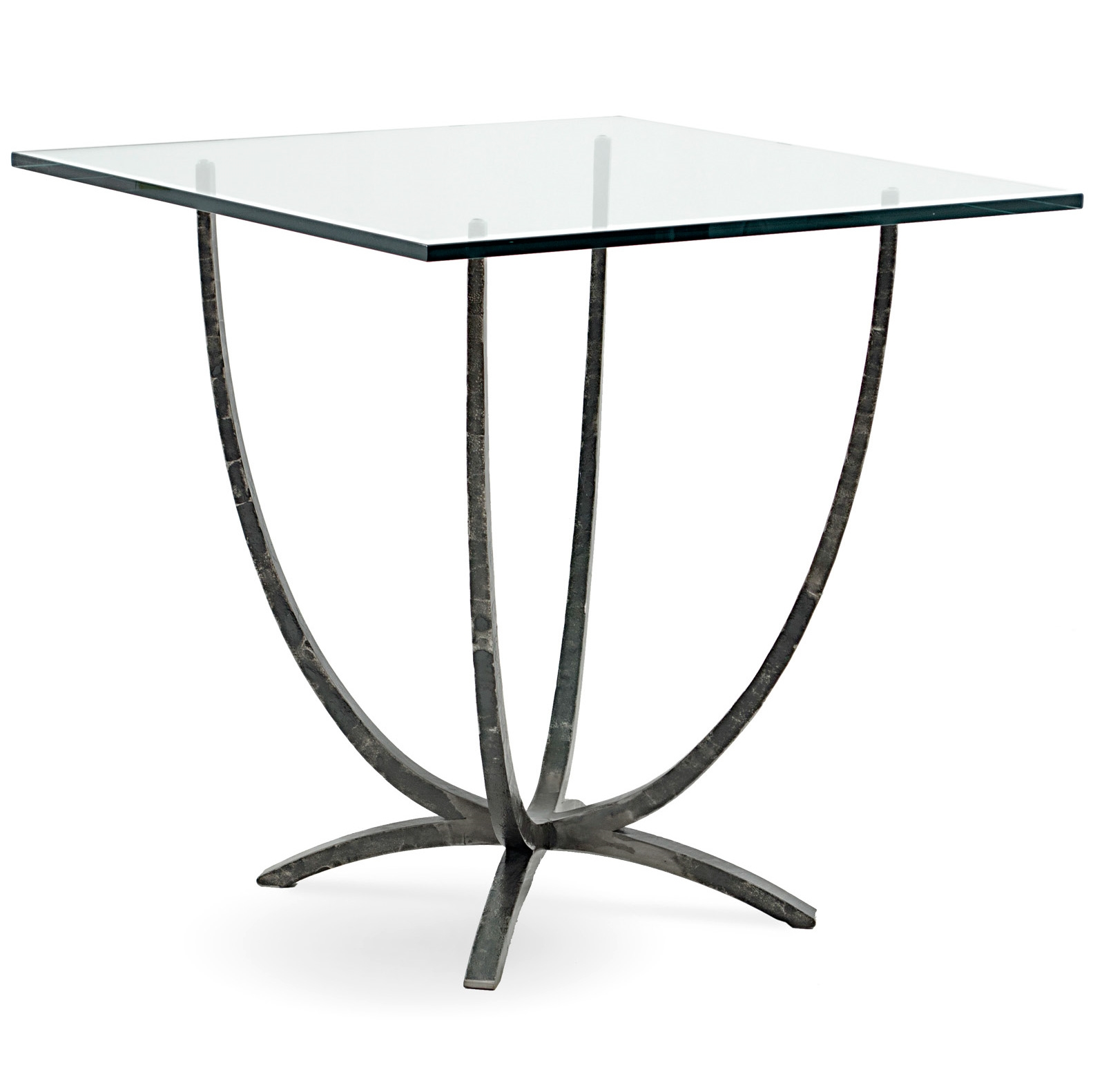 Triumph 42 In Square Iron Bar Height Table By Charleston Forge