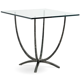 Pictured Is The 36 In Square Triumph Iron Bar Counter Height Table With  Hand