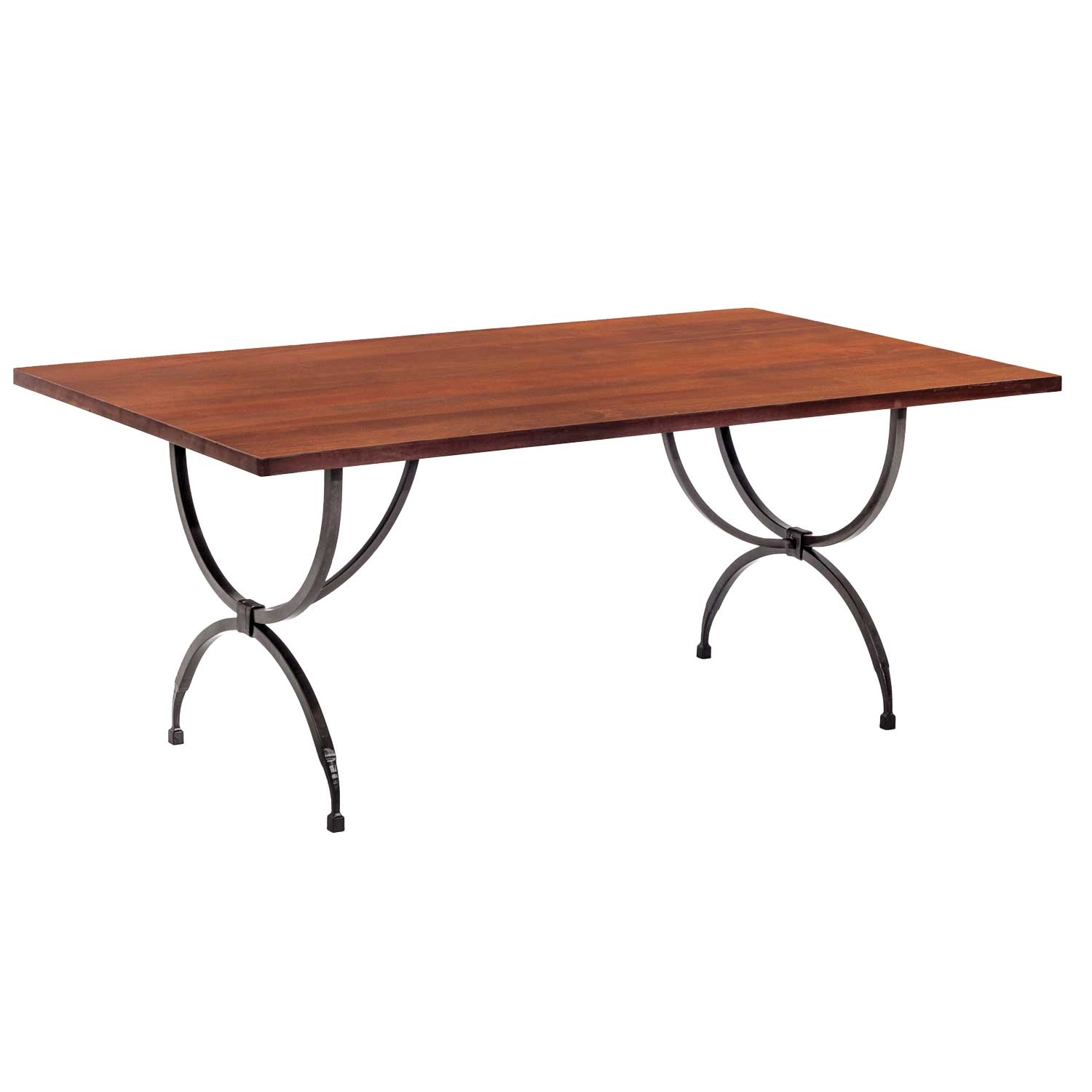 Blackberry Road Dining Table W 72quot x D 40quot x H 30quot : TWI CF T756 2 from www.timelesswroughtiron.com size 1500 x 1500 jpeg 154kB