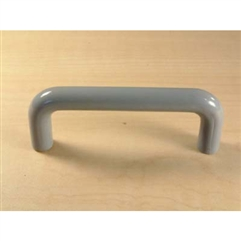 Maryland Plastic Pull 3in center Medium Grey Plastic by Century Hardware