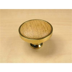 Windsor Solid Brass Knob 1-1/4in diameter by Century Hardware