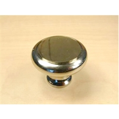 Windsor Solid Brass Knob 1-3/16in diameter by Century Hardware