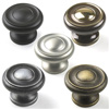 Plymouth Solid Brass Knob 1-1/2in diameter by Century Hardware