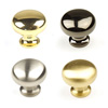 "Elite Solid Brass, Knob, 1-1/4"" diameter by Century Hardware"