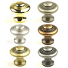 "Hartford Solid Brass, Knob, 1-3/8"" diameter by Century Hardware"