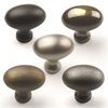Plymouth Solid Brass Knob 1-3/8in diameter Oil Rubbed Bronze by Century Hardware