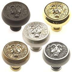 Roman Solid Brass Knob 1-1/2in diameter by Century Hardware