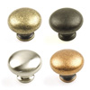 Milan Zinc Die Cast Knob 1.1/4in diameter by Century Hardware