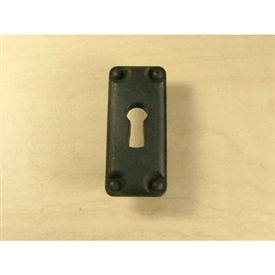 Rio Zinc Die Cast Keyplate 32mm center by Century Hardware