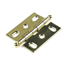 Hinge Solid Brass, Cabinet Hinge by Century Hardware