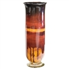 Pictured here is the Red Dawn Large Glass Hurricane Urn from Couleur
