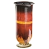 Pictured here is the Red Dawn Small Glass  Hurricane Urn from Couleur