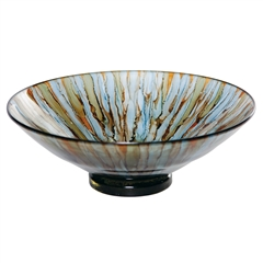 Pictured here is the Cool Water Bowl from Couleur