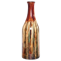 Pictured here is the Terra Large Glass Bottle from Couleur