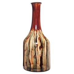 Pictured here is the Terra Medium Glass Bottle from Couleur