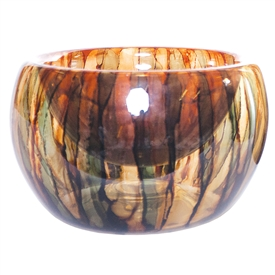 Pictured here is the Terra Glass Bowl from Couleur