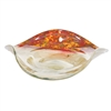 Pictured here is the Glass Fiesta Curved Plate from Couleur