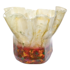 Pictured here is the Fiesta Glass Vase from Couleur