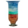 Pictured here is the Shoreline Hurricane Glass Vase from Couleur