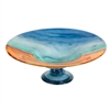 Pictured here is the Shoreline Glass Bowl and Base from Couleur