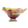 Pictured here is the Signature Glass Bowl and Base from Couleur