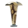 Pictured here is the Beige and Brown Signature Glass Urn  from Couleur