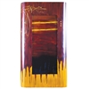 Pictured here is the Large Red Dawn Rectangle Wall Art from Couleur