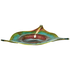 Pictured here is the Mountain Meadow 3 Star Glass Bowl from Couleur