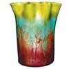 Pictured here is the Mountain Meadow Glass Vase from Couleur