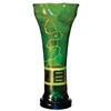 Pictured here is the Iguana Green Large Glass Urn from Couleur