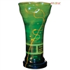 Pictured here is the Iguana Green Small Glass Urn from Couleur