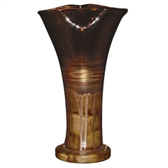 Pictured here is the Riviera Sand Small Glass Urn from Couleur