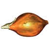 Pictured here is the Feather Gold Glass Lazy Fruit by Couleur