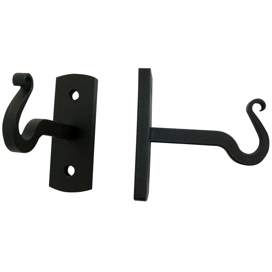 Pictured Here Are The Artisan Curtain Rod Brackets That Hold 1/2 Inch  Diameter Curtain