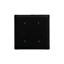 Wrought Iron Double Electrical Cover