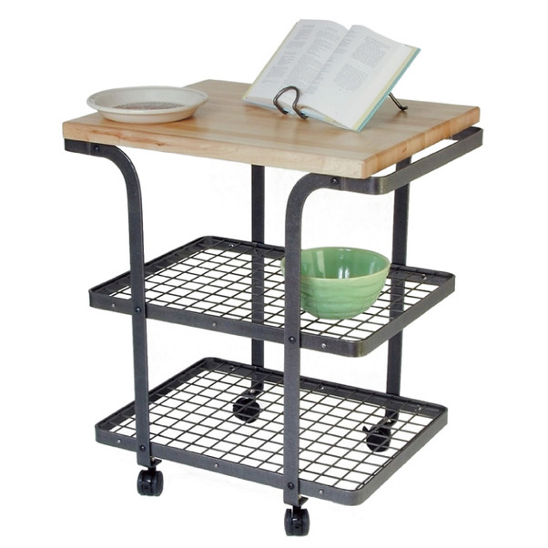 Baker Furniture Tucson: Wrought Iron Rectangle Baker's Cart By Enclume