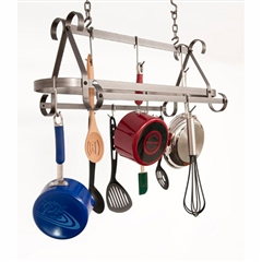 Wrought Iron Enclume Compact Scrolled Rack by Enclume