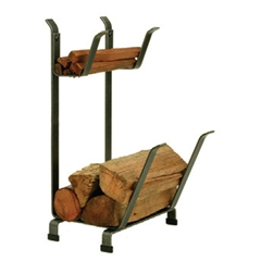 Enclume LR11 Country Home Log Rack w/Kindling Holder