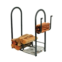 Pictured here is the Enclume LR12a Large Fire Center fire wood rack rack